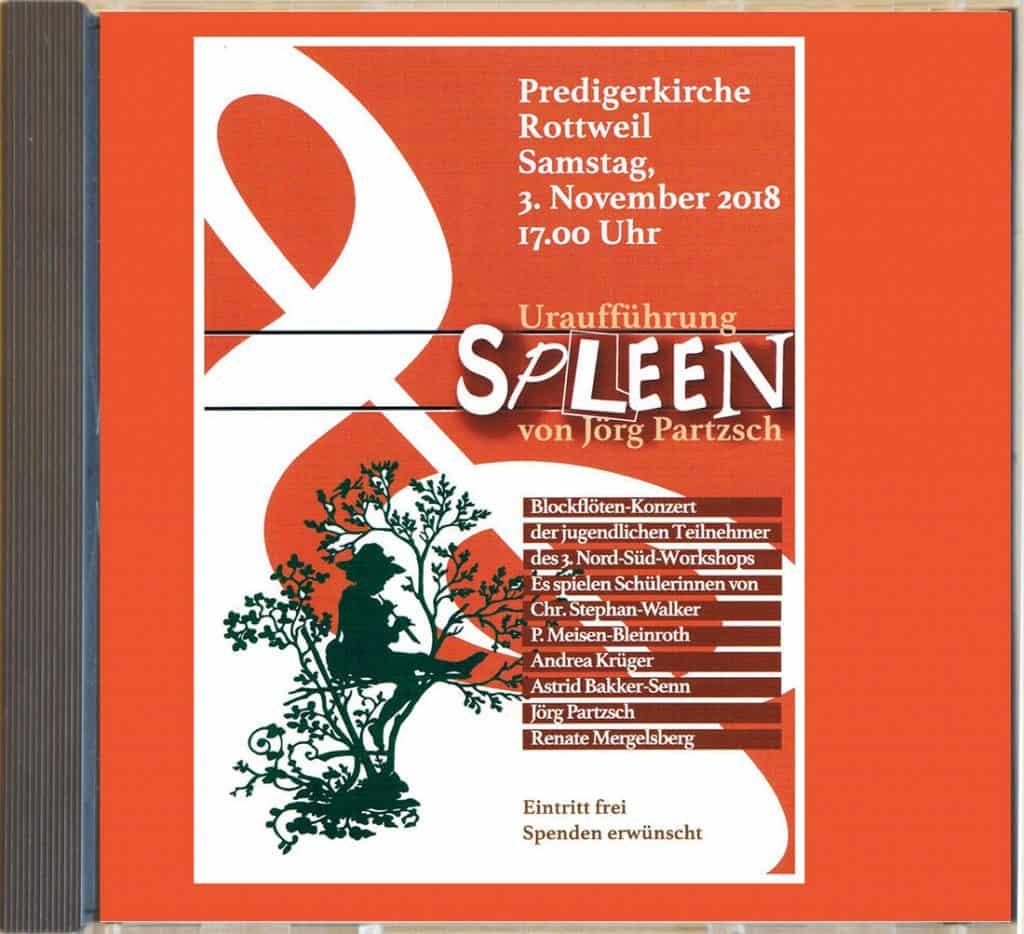 CD-Case vom Abschlusskonzert